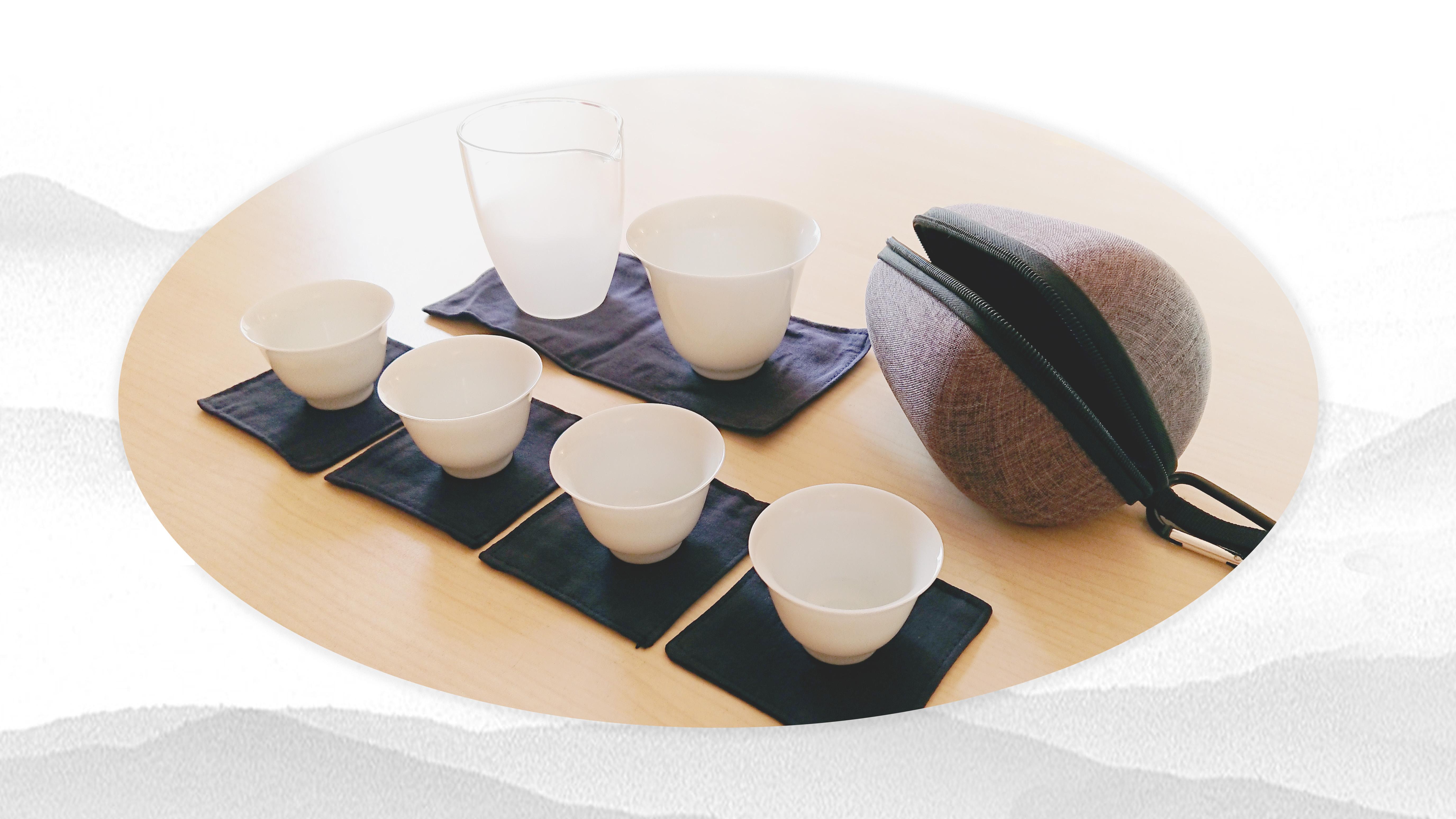 Service à thé voyage